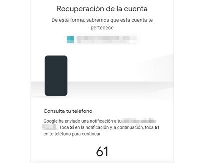 Cómo recuperar una cuenta de Google sin la contraseña de ingreso paso 4