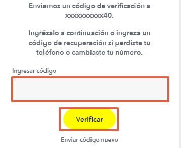 Cómo registrarte o crear una cuenta en Snapchat desde la computadora paso 4