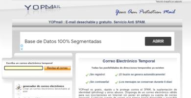 Qué es YOPMail, cómo registrarse e iniciar sesión