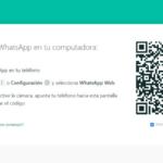 WhatsApp Web Cómo iniciar sesión escaneando el Código QR