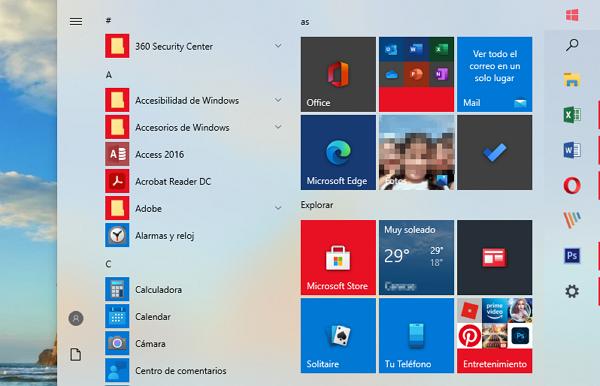 Acceder a Windows 10