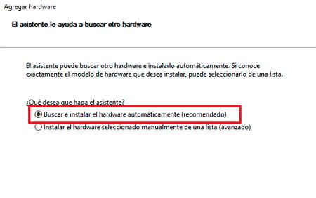 Asistente para reconocer audio en Windows 10