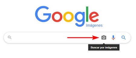 Buscar una persona con Google imágenes