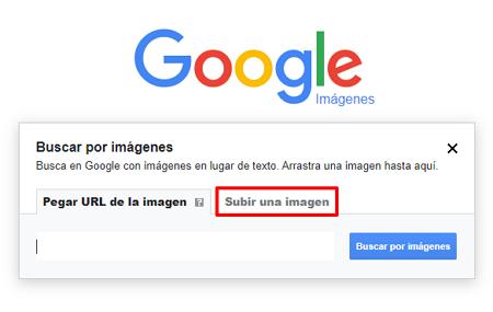 Buscar una persona en Google imágenes