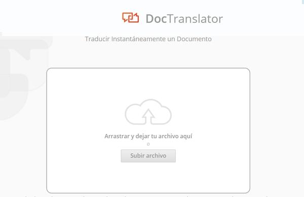 Doctranslator online