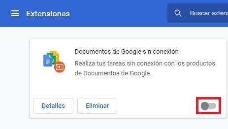 Habilitar extensión en Chrome