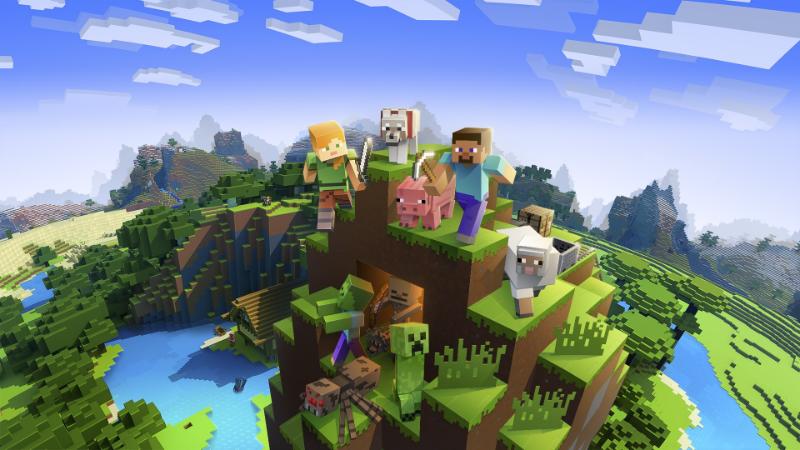 Jugar Minecraft con un amigo