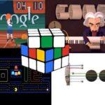 Mejores Doodles de Google para jugar