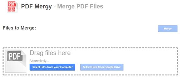 PDF Mergy online