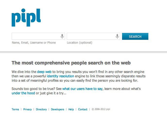 Pilp para buscar personas