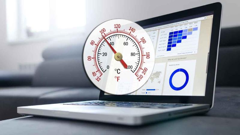 Temperatura en ordenador Windows
