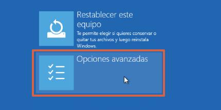 Cómo reparar el inicio de Windows 10 desde WinRE paso 3