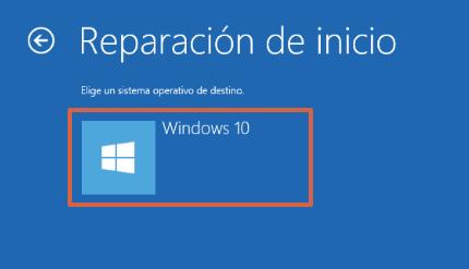 Cómo reparar el inicio de Windows 10 desde los medios de instalación paso 7