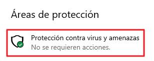 Proteccion para virus y amenazas