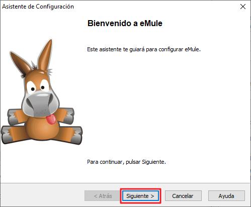 Asistente de Configuración de eMule