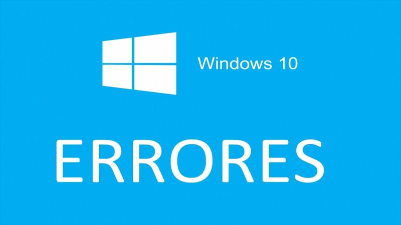 Windows 10 no arranca - Errores