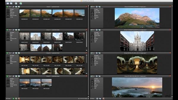 Autopano Pro como programa para editar fotos.