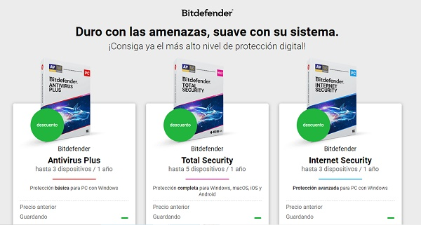 Bitdefender antivirus para pendrive o memoria USB