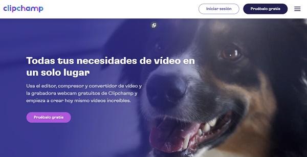 Clipchamp como programa para hacer o editar videos