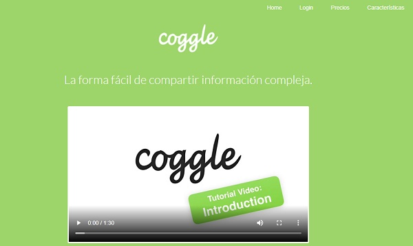 Coggle como programa para hacer o crear mapas conceptuales