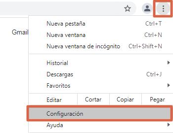 Cómo bloquear una página o sitio web en Google Chrome desde la configuración paso 1