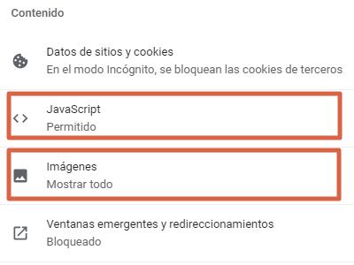 Cómo bloquear una página o sitio web en Google Chrome desde la configuración paso 4