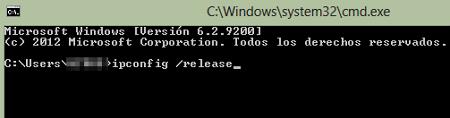 Cómo cambiar la dirección IP de un ordenador Windows desde el Símbolo del Sistema