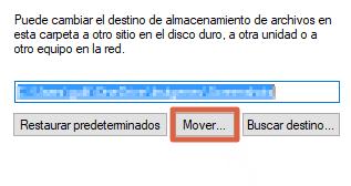 Cómo cambiar la ubicación de las capturas de pantalla en Windows 10 paso 5