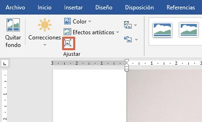 Cómo comprimir un archivo de Word o reducir su tamaño comprimiendo las imágenes en el documento paso 3