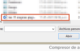 Cómo comprimir un archivo de Word o reducir su tamaño usando el compresor online Wecompress paso 3