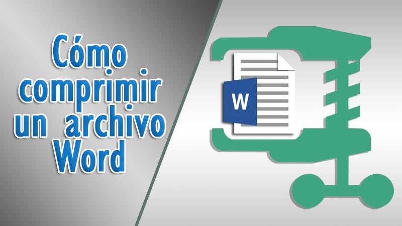 Cómo comprimir un archivo de Word o reducir su tamaño