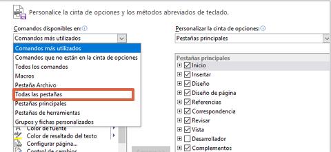 Cómo configurar el botón de dictar en Word paso 4