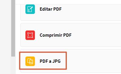 Cómo convertir documentos de Word a un archivo JPEG usando Smallpdf paso 4