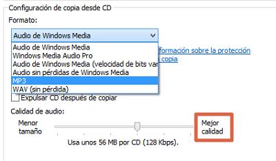 Cómo convertir un archivo CDA a MP3 usando el reproductor de Windows Media paso 6