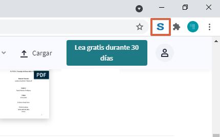 Cómo descargar libros y documentos de Scribd gratis utilizando la extensión de Google Chrome paso 4.