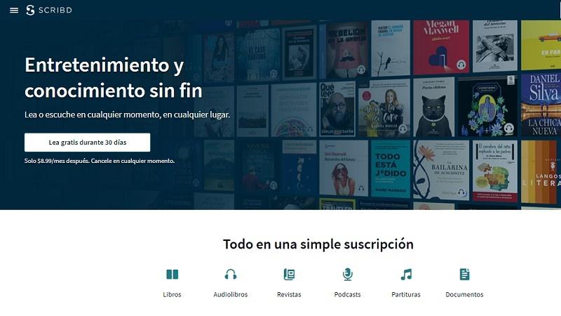 Cómo descargar libros y documentos de Scribd gratis