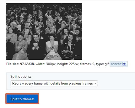 Cómo elegir la cantidad de repeticiones del GIF paso 5