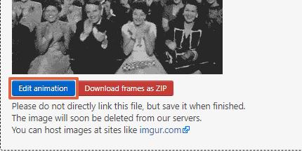 Cómo elegir la cantidad de repeticiones del GIF paso 6