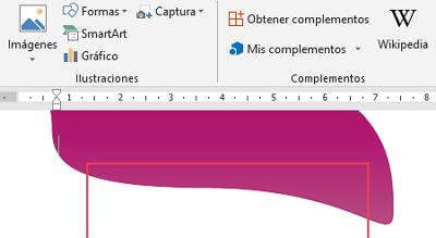 Cómo hacer o crear un gafete o credencial en Word paso 10
