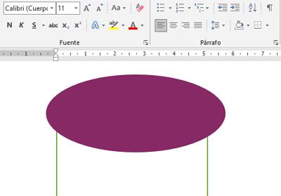Cómo hacer o crear un gafete o credencial en Word paso 8