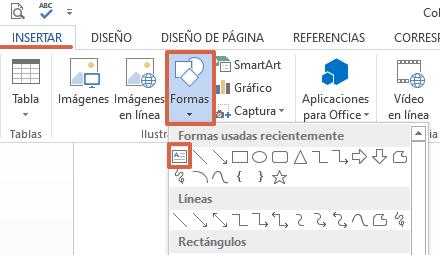 Cómo hacer un collage de palabras en Microsoft Word paso 1