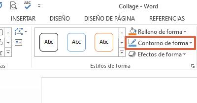 Cómo hacer un collage de palabras en Microsoft Word paso 5