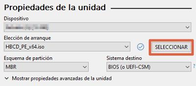 Cómo instalar Hirens Boot en una memoria USB bootable con ayuda de Rufus paso 3