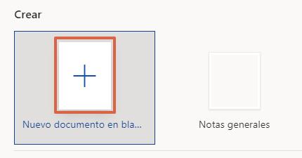 Cómo poner o cambiar el interlineado en Word desde su portal web paso 2