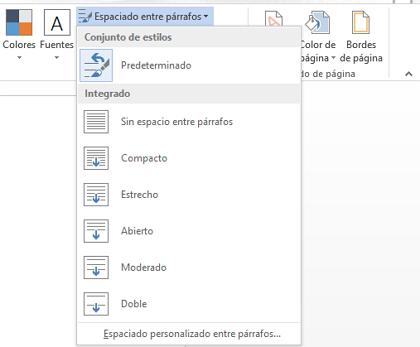 Cómo poner o cambiar el interlineado en todo el documento de Word desde Windows paso 4
