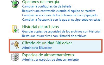 Cómo ponerle contraseña a una memoria USB en Windows paso 2