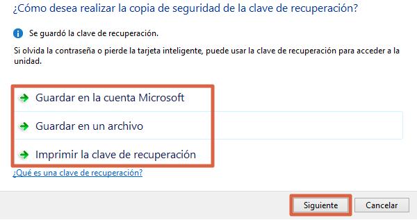 Cómo ponerle contraseña a una memoria USB en Windows paso 5