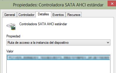 Cómo solucionar Disco duro al 100% en Windows 10 actualizando drivers SATA paso 6.2