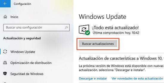 Cómo solucionar o reparar el error 0x8007045d en Windows actualizando el Sistema