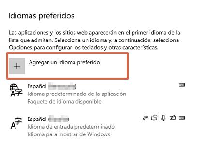 Configurar el idioma del teclado en Windows paso 4